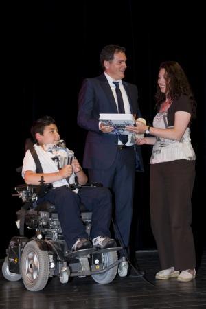 Remise du Prix du Conseil général des jeunes au film «Arielle» de Jean-Marc Descamps