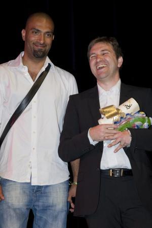 Remise du Prix du Public au film «Cendrillon du pied gauche» de Benjamin Lehrer